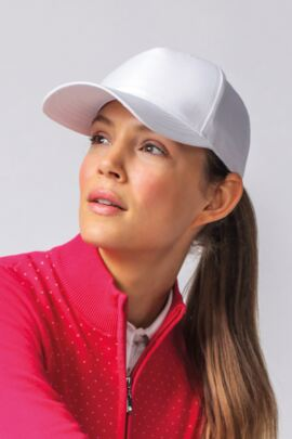 Ladies Semi Structured Performance Golf Cap