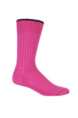 Ladies Cushioned Tipped Cotton Golf Socks