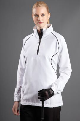 Ladies Mistral Long Sleeve Golf Wind Shirt - Sale