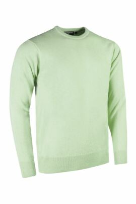 Glenmuir Morar Lambswool Round Crew Neck Golf Sweater - Sale
