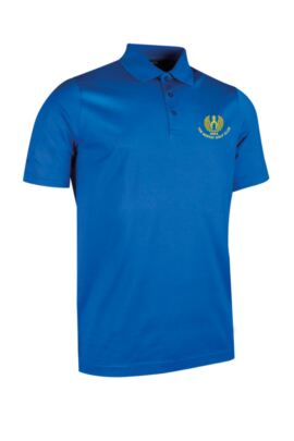 Moffat GC Glenmuir Mens Plain Mercerised Cotton Golf Polo Shirt