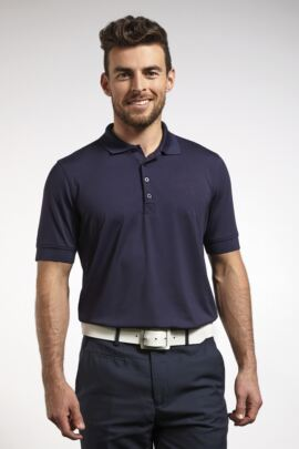 Mens Performance Stretch Golf Polo Shirt