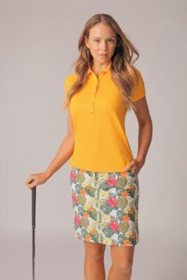 Ladies Performance Pique Golf Polo Shirt