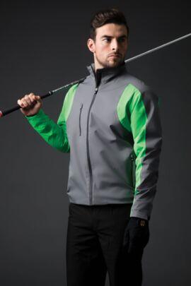 Mens Technical Lightweight Waterproof Golf Jacket