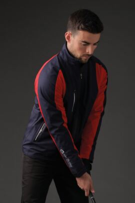 Mens Technical Lightweight Waterproof Golf Jacket