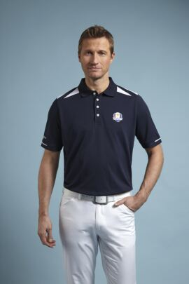 Glenmuir Mens Ryder Cup 2014 Fanwear Rannoch Performance Polo Shirt