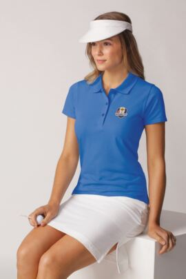 Official Ryder Cup 2018 Glenmuir Ladies Cotton Pique Polo Shirt