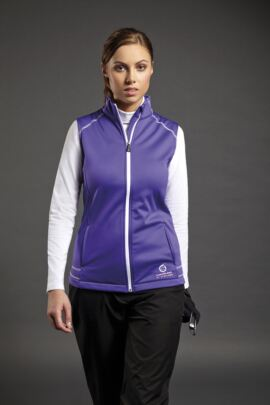 Sunderland Ladies Alaska Bonded Fleece Golf Gilet