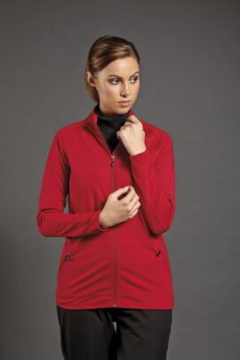 Sunderland Ladies Textured Zip Front Golf Mid Layer