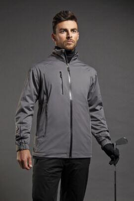 Sunderland Mens Contrast Piping Whisperdry Waterproof Golf Jacket - SALE