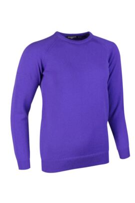 Glenmuir Ladies Crew Neck Lambswool Raglan Sleeve Golf Sweater