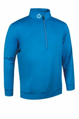 Sunderland Mens Zip Detail Stretch Golf Mid Layer - Sale