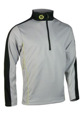 Sunderland Mens Chamonix Long Sleeve Zip Neck Mid Layer Golf Top - Sale
