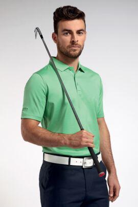 Glenmuir Mens Plain Mercerised Cotton Golf Polo Shirt
