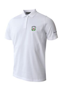 OLGS Glenmuir Mens Plain Mercerised Golf Polo Shirt