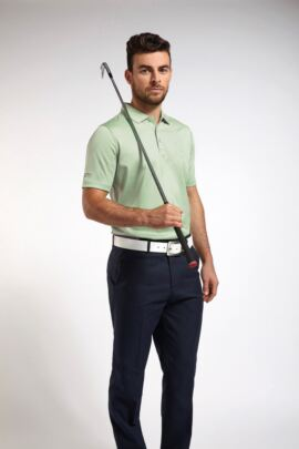 Glenmuir Mens Plain Mercerised Golf Polo Shirt - Sale