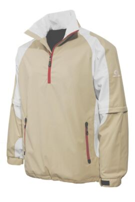 Sunderland Tournament Convertible Weatherbeater Ultra-Lightweight Waterproof Golf Jacket - Sale