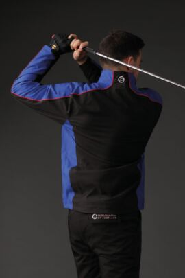 Mens Panelled Waterproof Golf Jacket