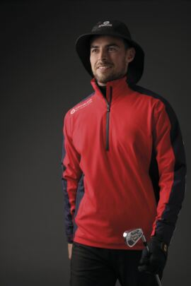 Mens Colour Block Waterproof Golf Weatherbeater