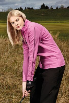 Sunderland Ladies Verbier Zip Through Mid Layer Golf Jacket - Sale