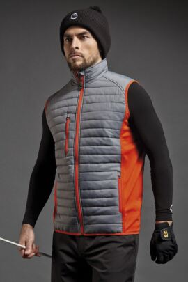 Mens Performance Zip Front Padded Gilet