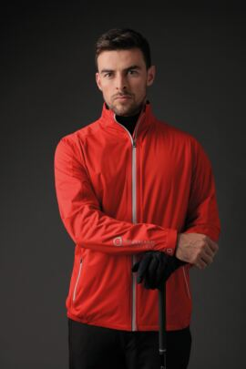 Mens Whisperdry Lightweight Waterproof Golf Jacket