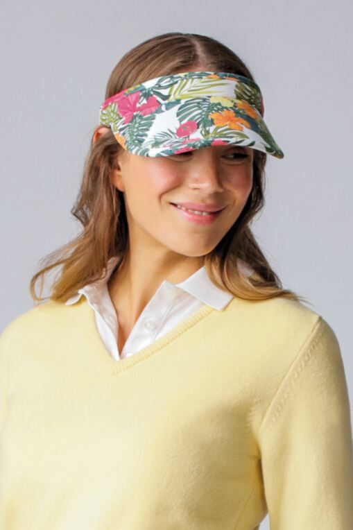 Ladies Performance Headband Golf Visor - Sale