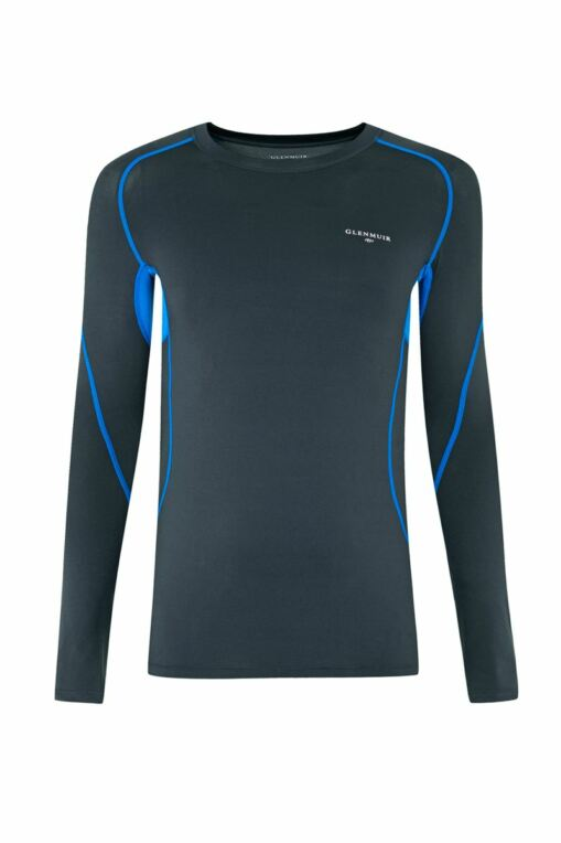 Mens Long Sleeved Compression Performance Golf Base Layer