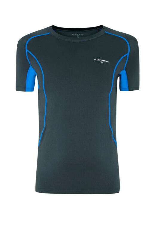 Mens Short Sleeved Compression Performance Golf Base Layer