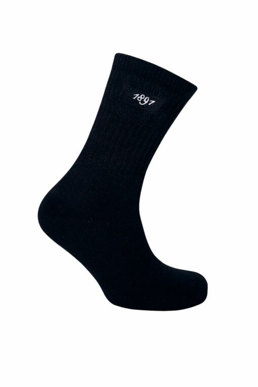 Mens 2 Pair Pack Crew Cotton Golf Socks