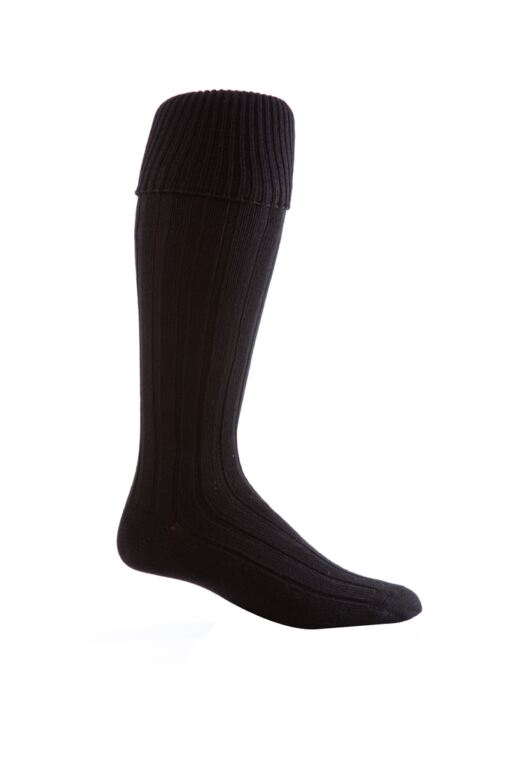 Mens Birkdale Knee High Cushioned Wool Golf Socks