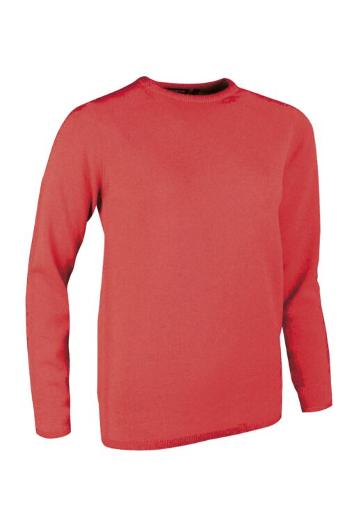 Ladies Crew Neck Cashmere Golf Sweater