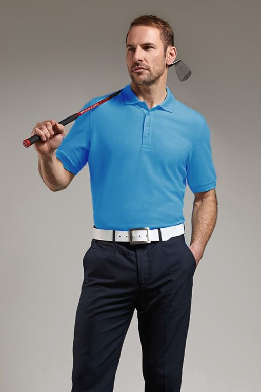 Mens Classic Fit Cotton Pique Polo Shirt - Sale