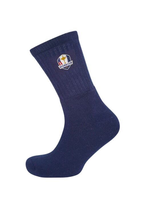 Official Ryder Cup 2018 Mens Crew Golf Socks