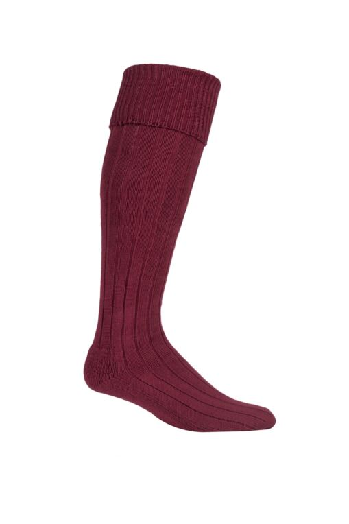 Mens Birkdale Knee High Cushioned Cotton Golf Socks