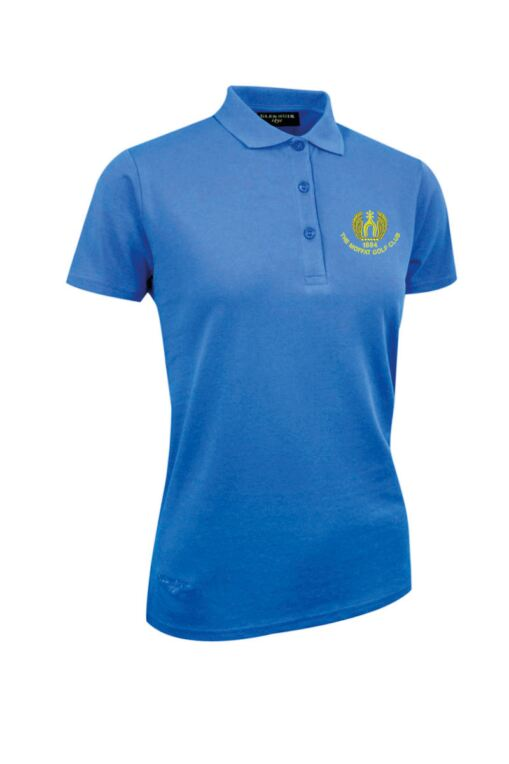 Moffat GC Ladies Cotton Pique Polo Shirt