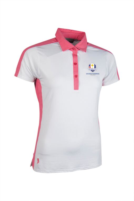 Official Ryder Cup 2018 Ladies Melange Panel Performance Golf Polo Shirt