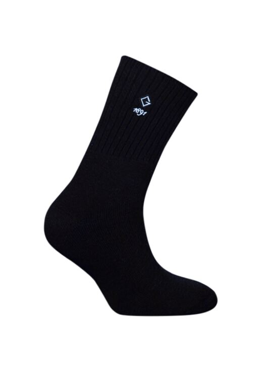 Mens Gentle Grip Cushioned Cotton Golf Socks