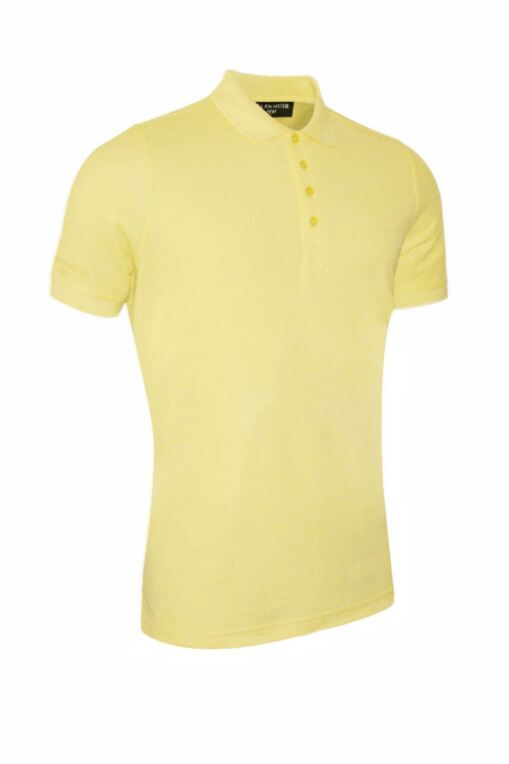 Mens Classic Cotton Pique Golf Polo Shirt
