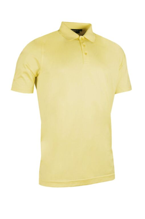 Mens Plain Mercerised Cotton Golf Polo Shirt