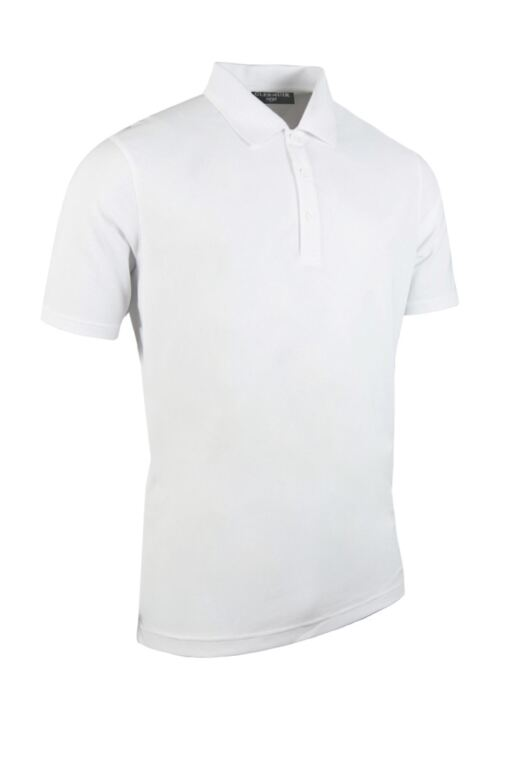 Mens Performance Pique Golf Polo Shirt
