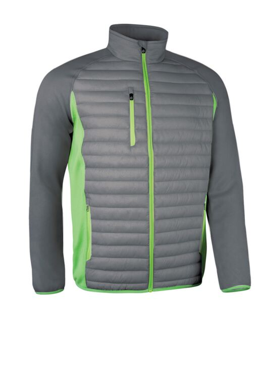 Mens Zip Front Padded Performance Golf Jacket