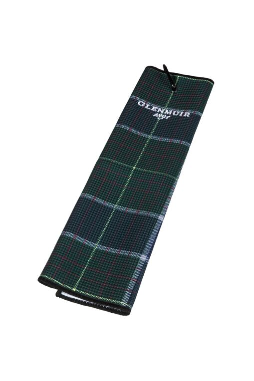 Tartan Tri-Fold Golf Bag Towel
