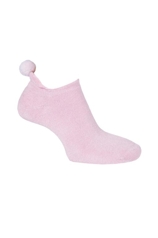 Ladies Fashion Secret Golf Socks with Pompom