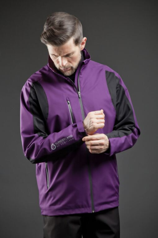 Mens Technical Lightweight Waterproof Golf Jacket - Sale