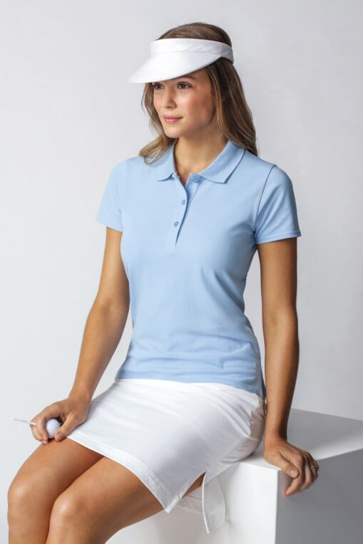 Ladies Cotton Pique Golf Polo Shirt