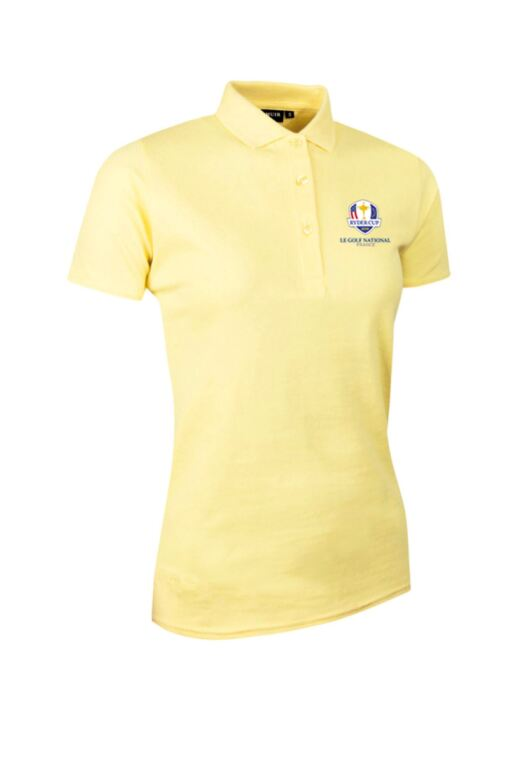 Official Ryder Cup 2018 Ladies Cotton Pique Golf Polo Shirt