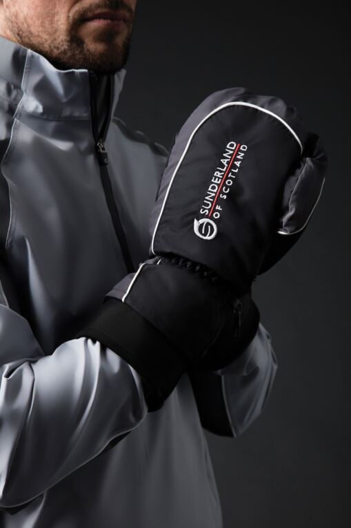 Mens And Ladies Thermal Lined Showerproof Golf Mittens