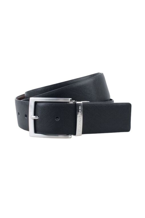 Mens Leather Reversible Golf Belt