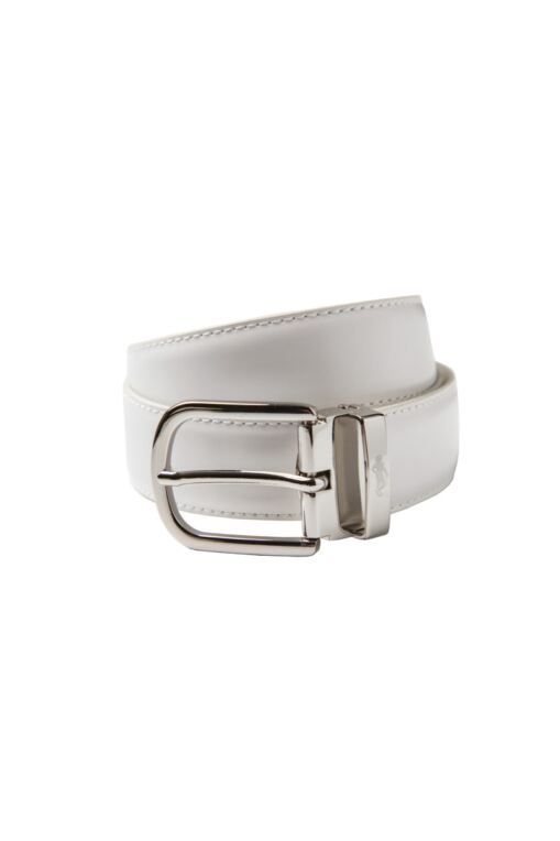 Ladies Mock Snake Skin Leather Golf Belt